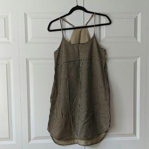 Madewell striped tank dress